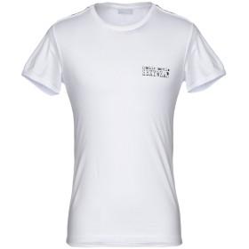 《期間限定セール開催中!》FRANKIE MORELLO SEXYWEAR メンズ T シャツ ホワイト L 95% コットン 5% ポリウレタン