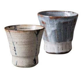 栞 手づくりカップペア ギフトセット 【桐箱入り】 陶器