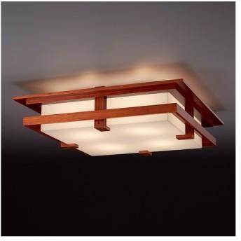 増税前に使える1,000円OFFクーポン|シーリング 天井照明|フランクロイドライト ロビーシーリング チェリー