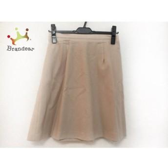 ジャスグリッティー JUSGLITTY スカート サイズ2 M レディース ベージュ スペシャル特価 20190521