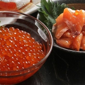 【北海道根室産】いくら・サーモン親子丼の具 SA-23015