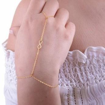 エターナルフィンガーブレスレット フィンガーブレス ブレスレットと指輪をつなぐ メンズ レディース ジョイントリング ファランジリング