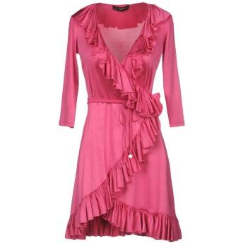 《セール開催中》MARIAGRAZIA PANIZZI レディース ミニワンピース&ドレス ライトパープル 46 アセテート 92% / ポリウレタン 8%