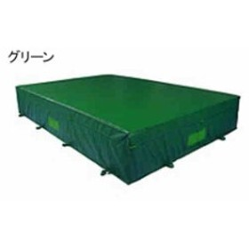 中津テント エバーマット  屋外用 ウレタンマット 屋内外兼用グリーン  H-320