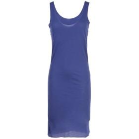 《期間限定セール開催中!》ALPHA STUDIO レディース ミニワンピース&ドレス ブルー 40 コットン 100%