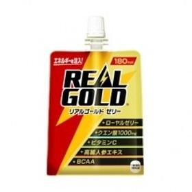 【コカ・コーラ社】リアルゴールドゼリー180gパウチ×24個