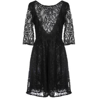 《セール開催中》VICOLO レディース ミニワンピース&ドレス ブラック L 100% ポリエステル