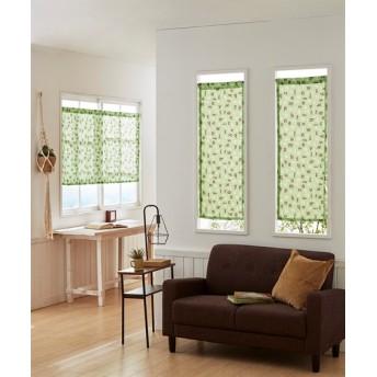 アルファベット柄。小窓用カフェカーテン のれん・カフェカーテン