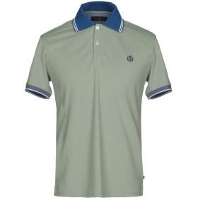 《送料無料》HENRI LLOYD メンズ ポロシャツ ライトグリーン M コットン 100%