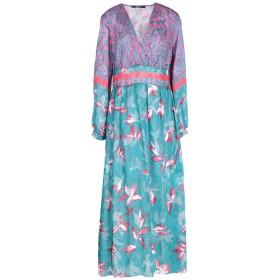 《送料無料》SISTE' S レディース ロングワンピース&ドレス ディープジェード XS 100% ポリエステル