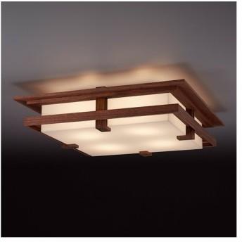 増税前に使える1,000円OFFクーポン|シーリング 天井照明|フランクロイドライト ロビーシーリング ウォルナット