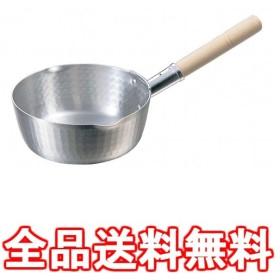 K アルミ 両口・打出 雪平鍋 16.5cm 業務用 037005002