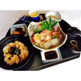 和風食事処「おおしき」の海鮮丼ペアお食事券