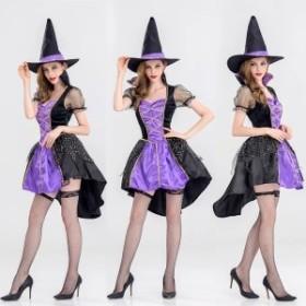 ハロウィン Halloween コスプレ コスチューム 仮装 レディース クリスマス 魔女 セクシーコス エレガント 小悪魔 デビル 6210