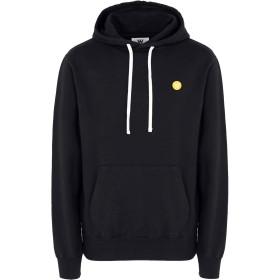 《期間限定セール開催中!》WOOD WOOD メンズ スウェットシャツ ブラック XL コットン 100% Ian-hoodie