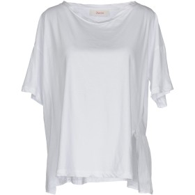 《セール開催中》JUCCA レディース T シャツ ホワイト M 100% コットン シルク