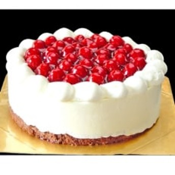 洋菓子店カサミンゴーのシュス木苺レアチーズケーキ12cm