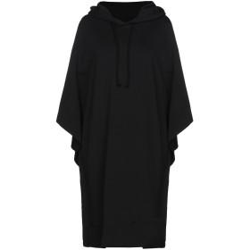 《セール開催中》MM6 MAISON MARGIELA レディース スウェットシャツ ブラック XS 100% コットン ポリウレタン