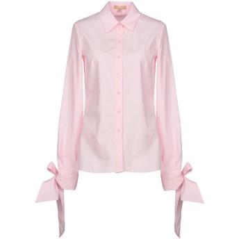 《セール開催中》MICHAEL KORS COLLECTION レディース シャツ ピンク 2 100% コットン