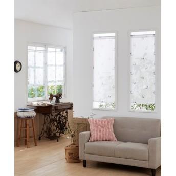 カジュアルネコ柄。小窓用カフェカーテン のれん・カフェカーテン