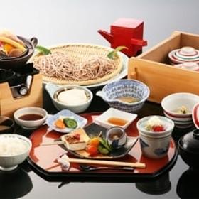 高級旅館【悠湯里庵】にご招待!豆腐とそば会席とご入浴のセットプラン 2名様の招待券