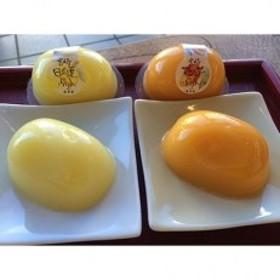 宮崎の元気印マンゴーぷりんと日向夏ぷりんのセット