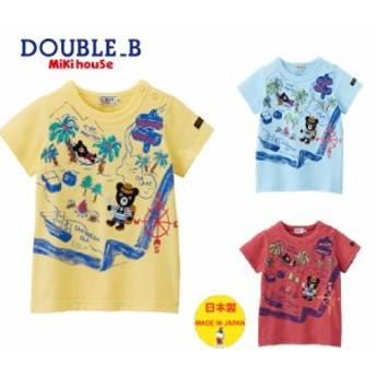 ダブルB(double_b)トレジャーハンター半袖Tシャツ(90cm)62-5209-619