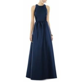 アルフレッドサング ドレス フォーマルドレス パーティドレス レディース【ALFRED SUNG Sateen Gown