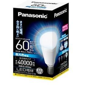 パナソニック【Panasonic】LED電球 8.4W (昼光色相当) LDA8DGE17Z60SW★【LDA8DGE17Z60SW】