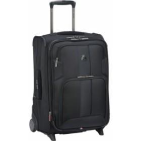 デルセー ガーメントバッグ メンズ【Delsey Sky Max 20 Expandable 2 Wheeled Carry-On Luggage】Black