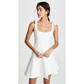 サンクセプト ドレス ミニドレス レディース【Cinq a Sept Jeanette Dress】Ivory