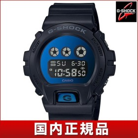 G-SHOCK Gショック CASIO カシオ DW-6900MMA-2JF デジタル メンズ 腕時計 国内正規品 黒 ブラック 青 ブルー ネイビー ウレタン