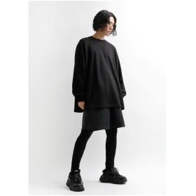 Tシャツ - minsobi 【minsobiラグランスリーブ オーバーサイズ Tシャツ 長袖 ロングスリーブ ビッグカットソー ユニセックス クロップドシャツ ロンT