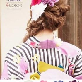 浴衣 セット レディース ゆかた 帯 下駄 小物 キャバ Ryuyu 成人式 髪飾り 浴衣小物 コサージュ