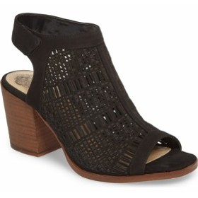 ff60df57ace9b0 ヴィンスカミュート ブーティ ブーツ レディース【VINCE CAMUTO Keannie Sandal】Black Nubuck Leather