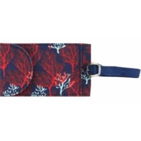カプリデザイン キャリーバッグ タグ レディース【Capri Designs Sarah Watts Luggage Tag】Coral