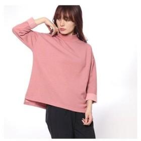 イグニオ IGNIO  レディース 長袖Tシャツ 配色デザインモックネックシャツ(長袖) LTCWフェイスTLS