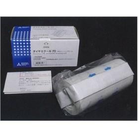 ダイヤエクール PD 有孔ドレッシングロール 44010120 10cmx5.0m 1箱1ロール 三菱製紙【条件付返品可】
