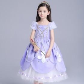 子供 キッズ お姫様 キッズドレス コスプレハロウィン 衣装 プリンセス コスプレベル ドレス プリンセスロングドレス