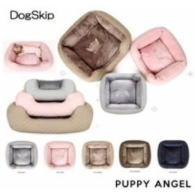 PAラブラグジュアリーキルティングベッドクッション Sサイズ パピーエンジェル PUPPYANGEL 犬 犬