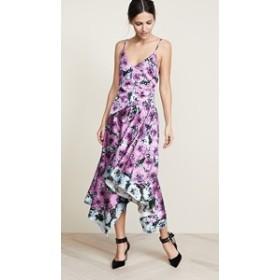 フルールドマル ドレス ミディドレス  レディース【Fleur du Mal Handkerchief Dress】Pink Floral