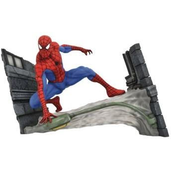 『マーベル・コミック』PVCスタチュー[マーベル・ギャラリー]スパイダーマン(ウェビング版)[ダイアモンドセレクト]《09月仮予約》