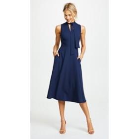 ブラックハロー ドレス ミディドレス  レディース【Black Halo Carolina Dress】Pacific Blue