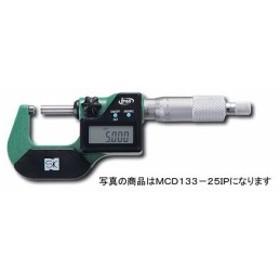 SK デジタル外側マイクロメータ(IP65相当) MCD133-25IP 測定長さ:0-25mm
