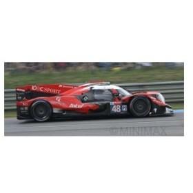 スパーク 1/ 43 Oreca 07 - Gibson No.48 IDEC Sport Racing 24H Le Mans 2018(S7028)ミニカー 返品種別B