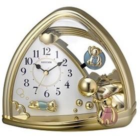 リズム時計工業【RHYTHM】置時計 ファンタジーランド762SR 4SG762SR18★【4SG762SR18】