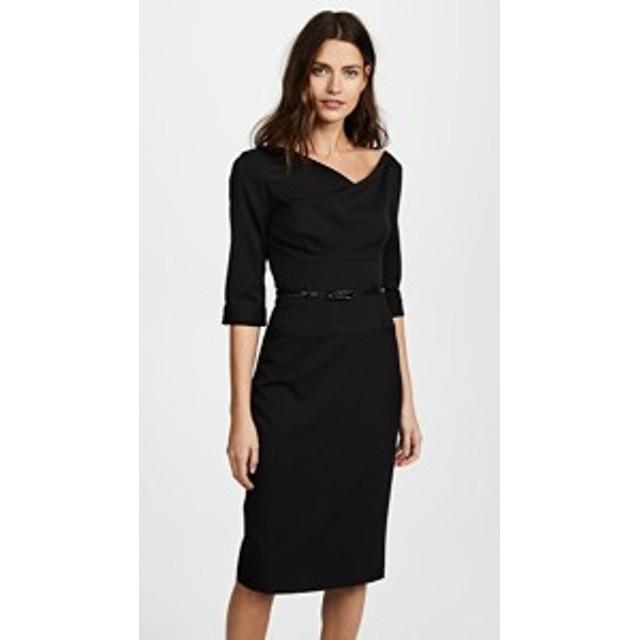ブラックハロー ドレス ミディドレス  レディース【Black Halo 3/4 Sleeve Jackie O Dress】Black
