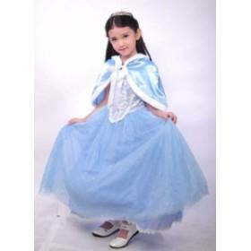 28379dab333c4 クリスマスパーディー 女の子ドレス 子供衣装 コスプレ衣装 ドレス コスチューム シンデレラ(Cinderella)風ドレス