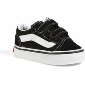 ヴァンズ スニーカー シューズ 靴 キッズ 男の子【VANS Old Skool Sneaker】Black