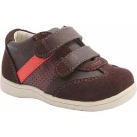 ニーナ スニーカー シューズ 靴 キッズ 男の子【Nina Everest Sneaker】Brown Burnish